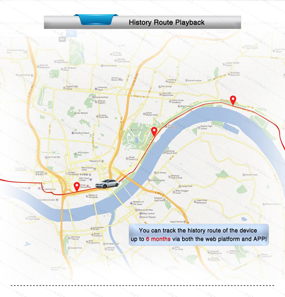 tkstar gps tracker online