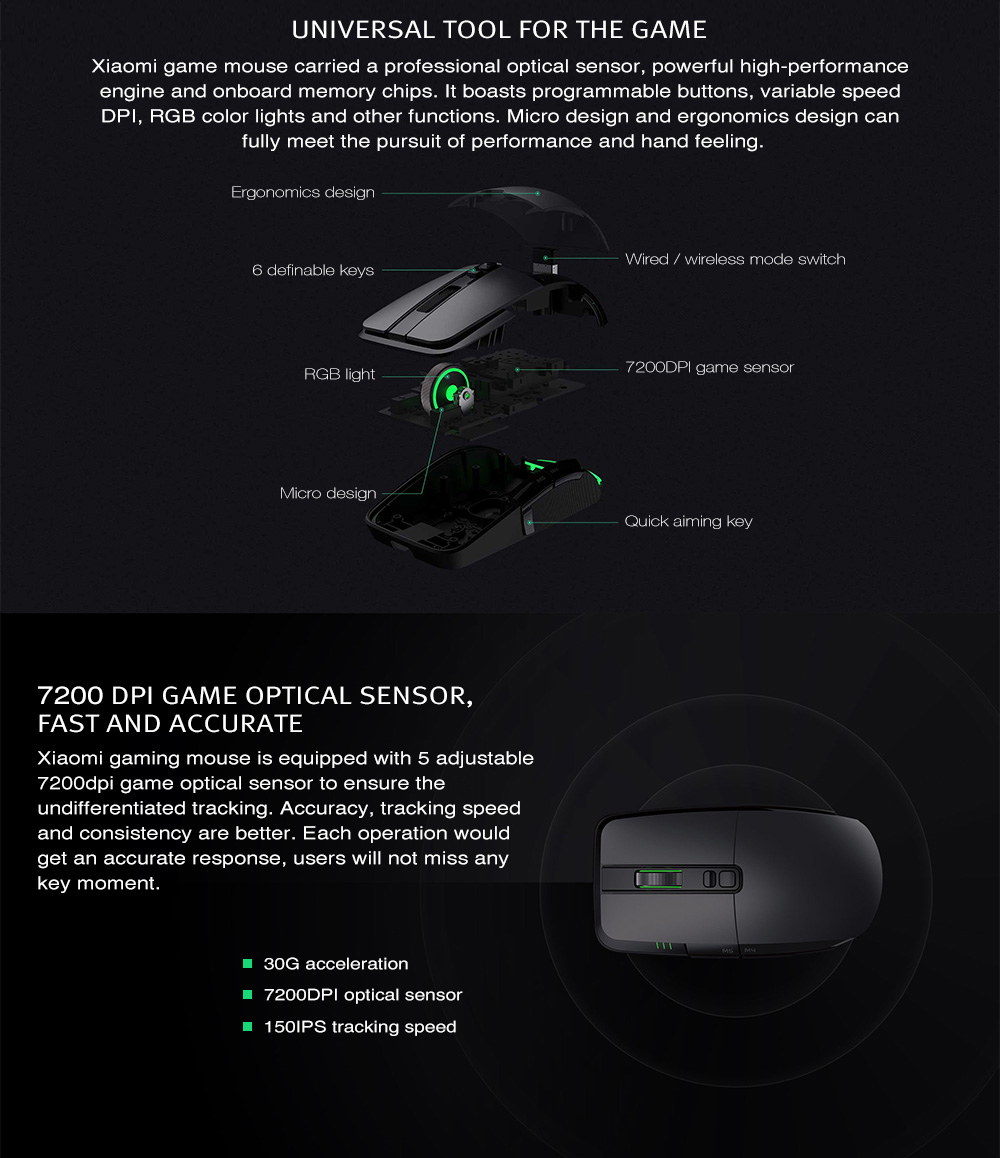 xiaomi wireless gaming mouse