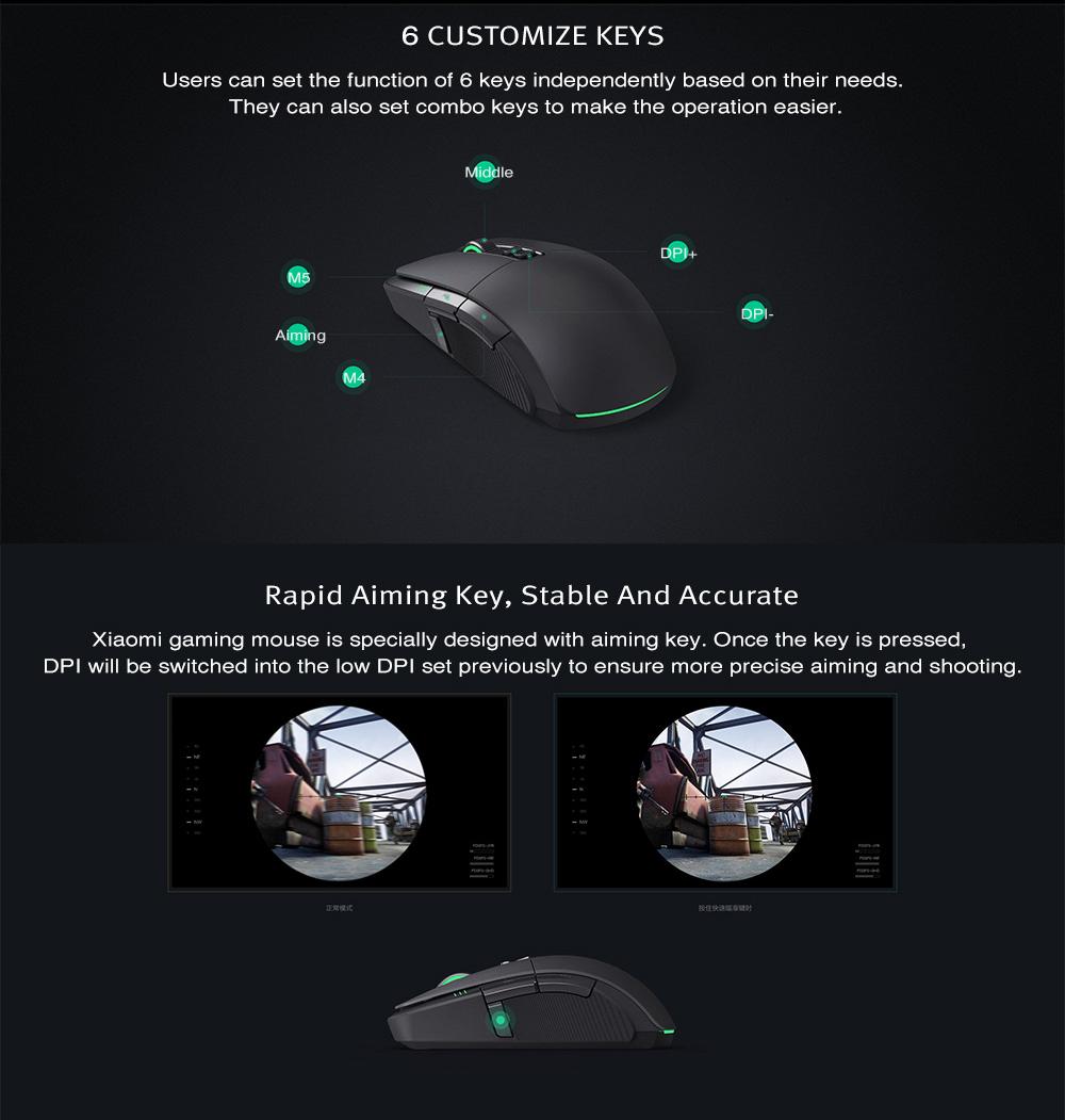 mi rgb gaming mouse