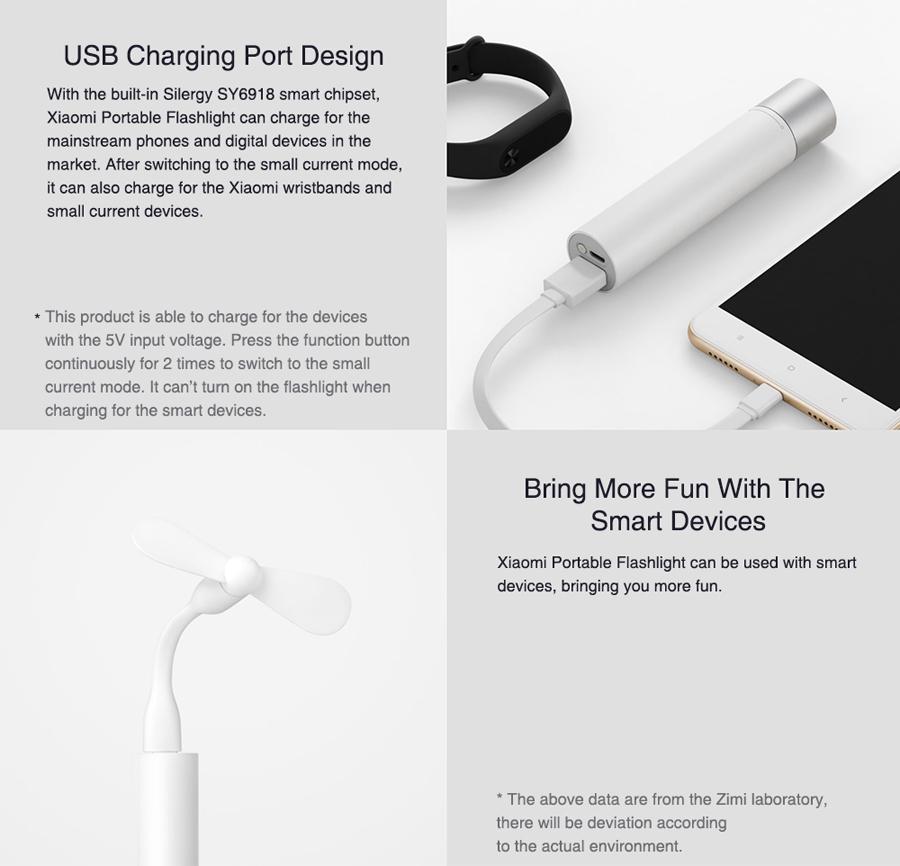 mi minimalist portable flashlight