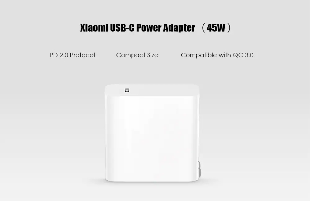 xiaomi 45w usb c charger