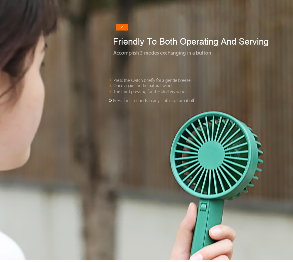 xiaomi travel handheld fan