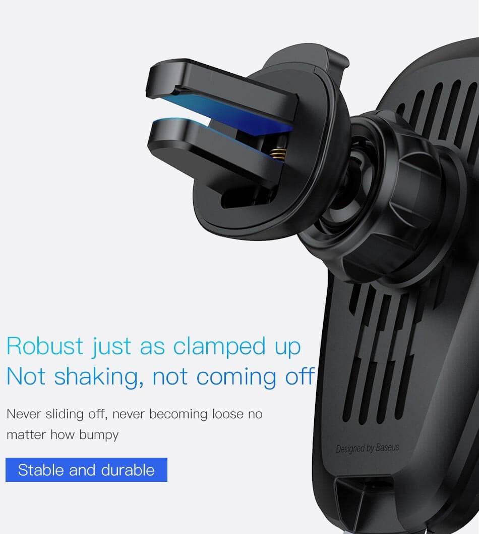 baseus wireless charger car