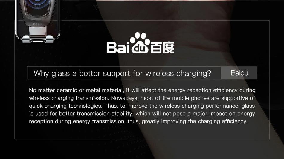 baseus car mount charger
