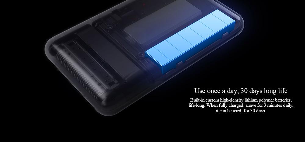 mijia portable razor