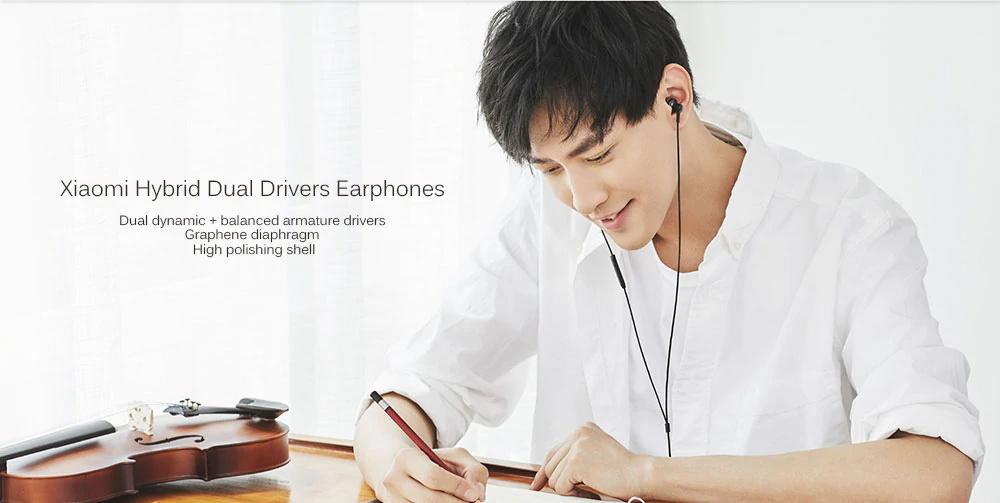 xiaomi hybrid dual earphones