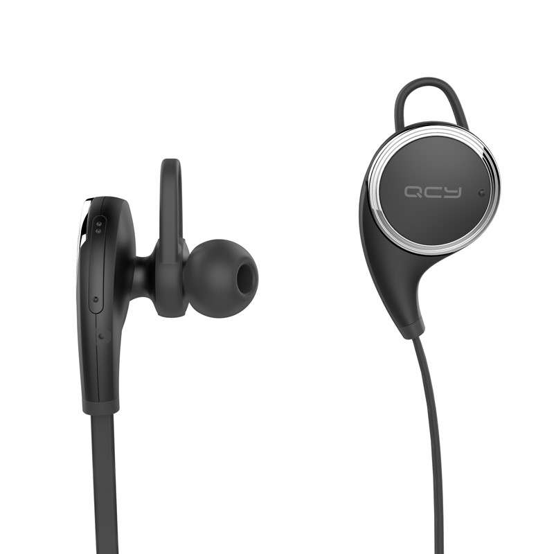 QCY QY8 HIFI Wireless Stereo Earphone with Mic Bluetooth 4.1 Sweatproof