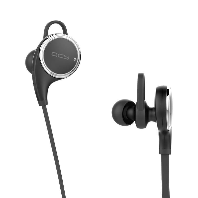 QCY QY8 HIFI Wireless Stereo Earphone with Mic Bluetooth 4.1 Sweatproof