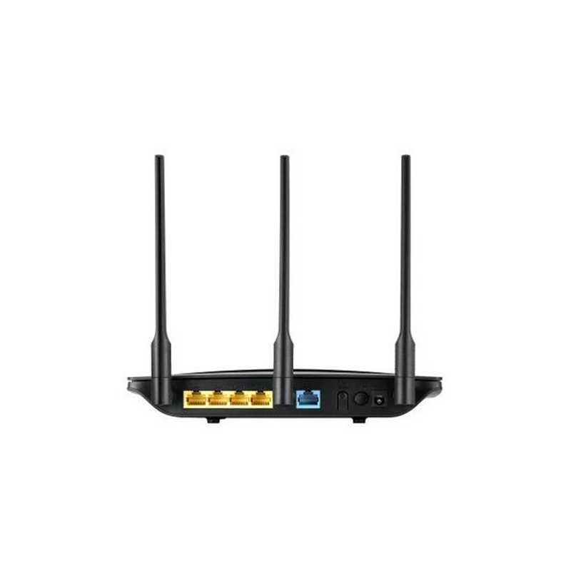 three antennas router