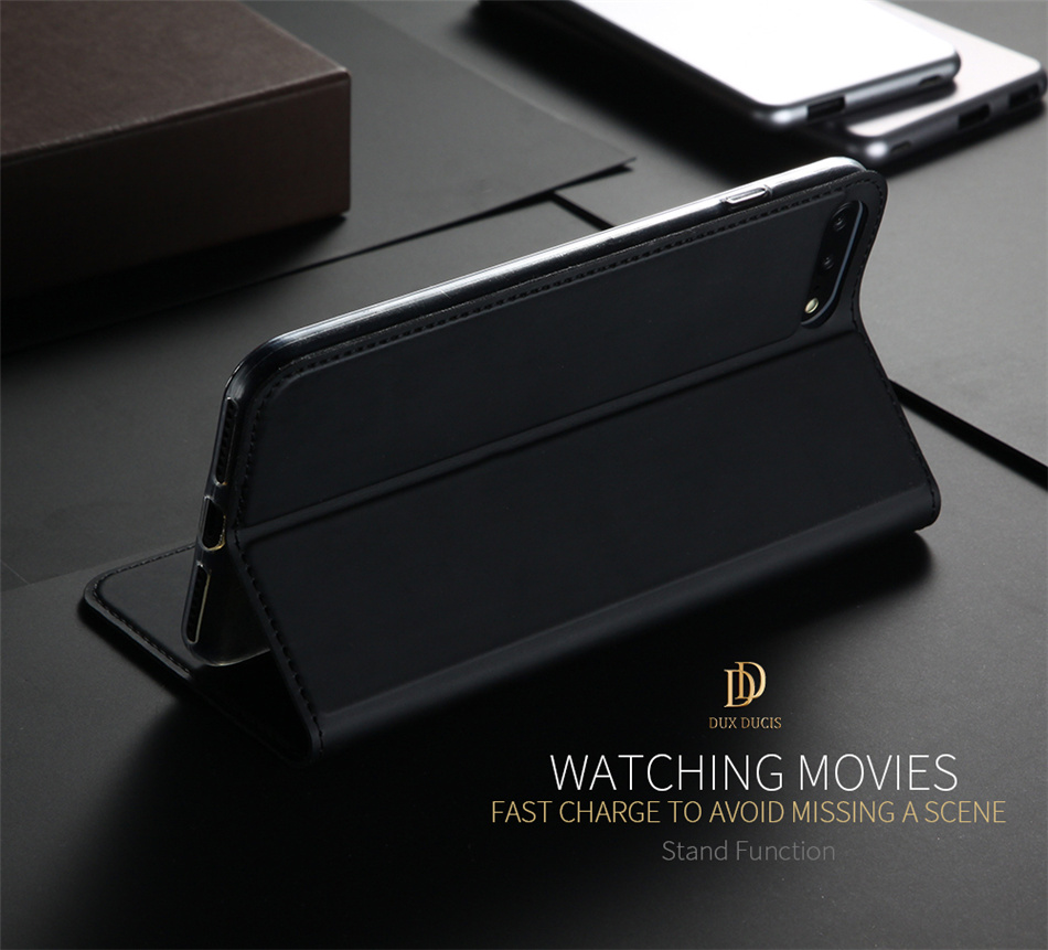 DUX DUCIS Slim PU Leather Case for iPhone 6 6p 7 7p 8 8p