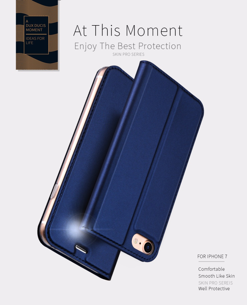 DUX DUCIS Wallet Leather Case for iPhone 6 6p 7 7p 8 8p