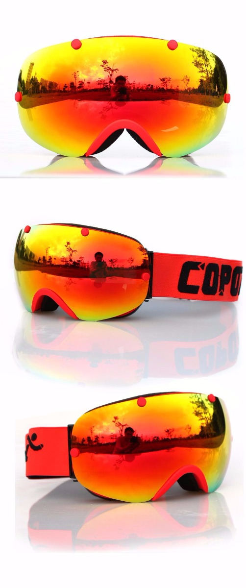 COPOZZ Anti-fog Polarized Goggles Professional Unisex Multicolor Snow
