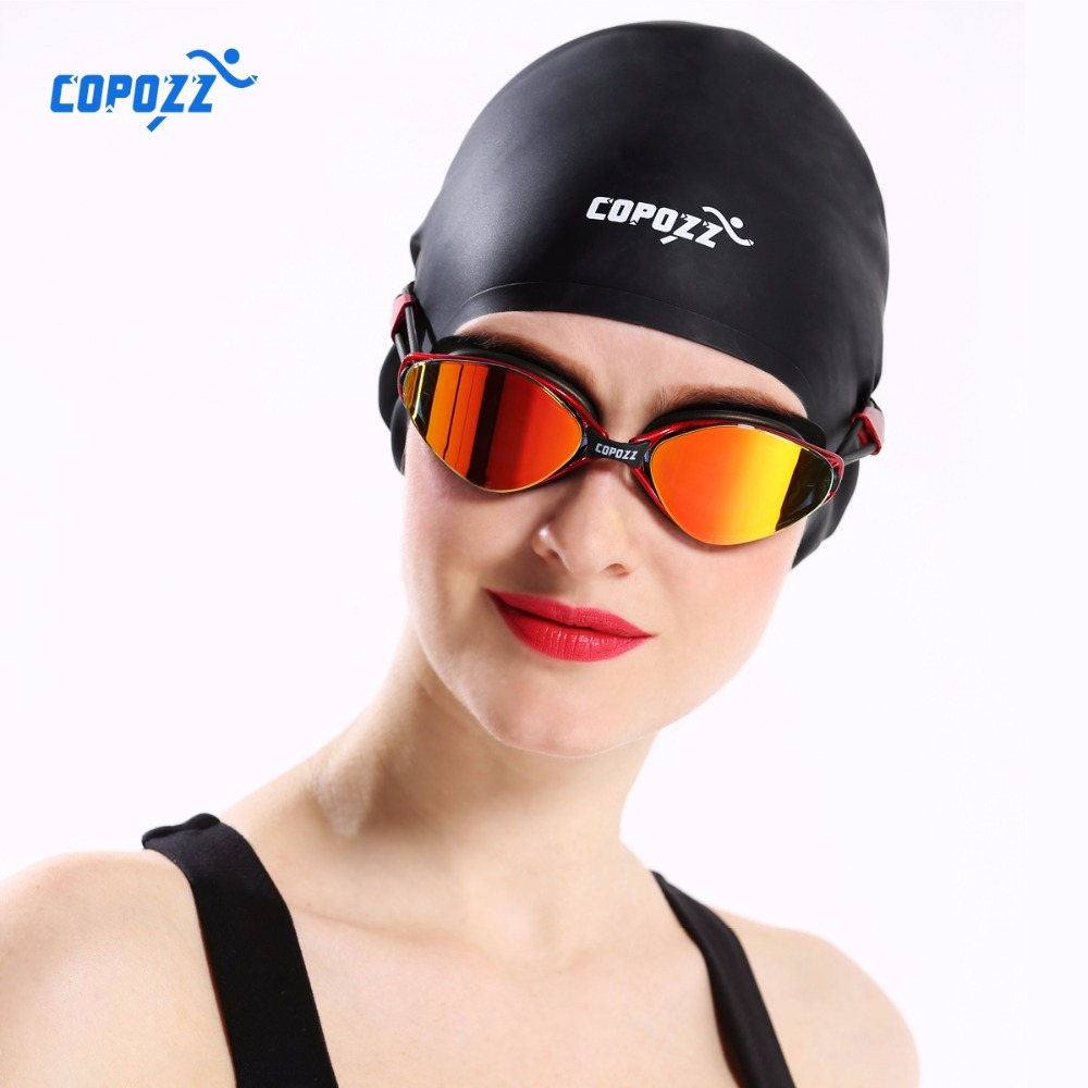 COPOZZ New Flexible Silicone Waterproof Swimming Caps