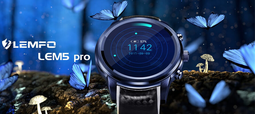 LEMFO LEM5 Pro Smartwatch Review   A Small Android Mobile Phone in Your Wrist