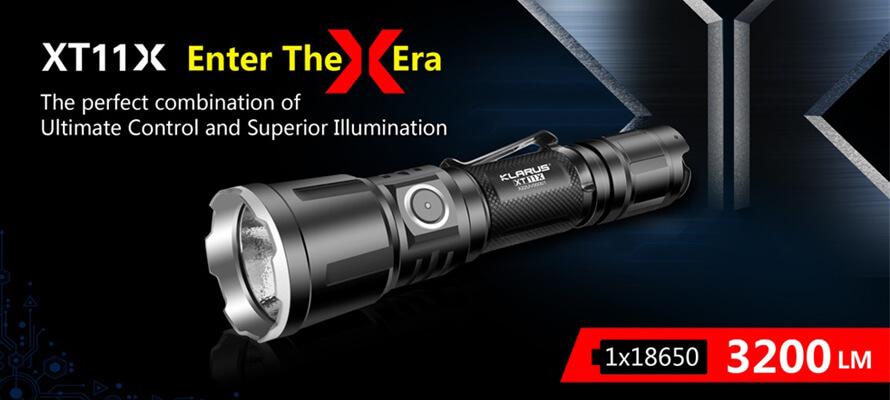 Klarus XT11X LED Flashlight Produces Super Bright Light for Versatile Use