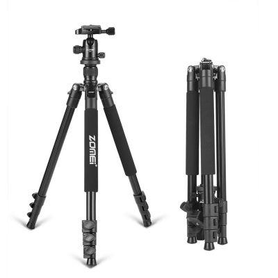 Zomei Q555 Professional Camera Tripod with Ball Head for Digital SLR Camera
