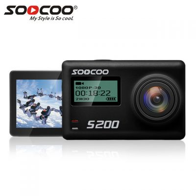 SOOCOO S200 Touch LCD Action Camera Ultra HD 4K with Gryo WiFi Voice Control