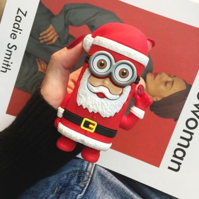 New Cartoon Santa Claus 5200mAh Power Bank Christmas Tree Snowman Rechargeable Christmas Gifts