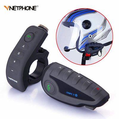 Vnetphone V8 NFC Motorcycle Helmet Headset Bluetooth Waterproof BT Interphone