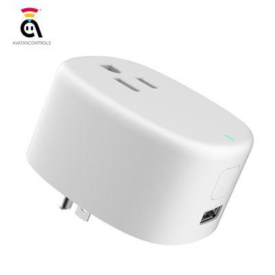 AvatarControls AWP01L WiFi Plug Smart  Socket with USB Charging Port