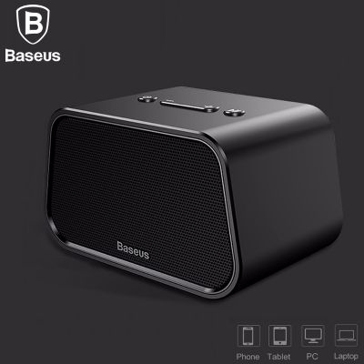 Baseus Encok E02 Trapezoid Bluetooth Speaker Support U Disk / TF Card /Aux Input