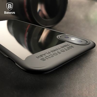 Baseus Suthin Case for iPhone X (ARAPIPHX-SB)