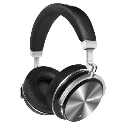 Bluedio T4S Over-ear Bass Bluetooth Headphones with Mic Active Noise Cancelling