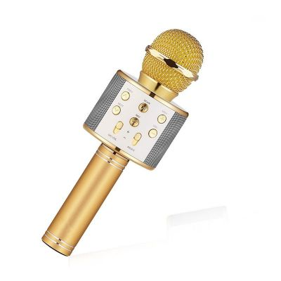 WS-858 Wireless Bluetooth Karaoke Microphone