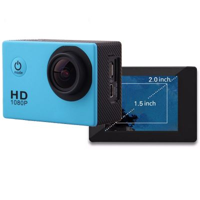 YOUSIB SJ4000 Action Camera 2.0 Inch HD 1080P Waterproof Mini Camcorder
