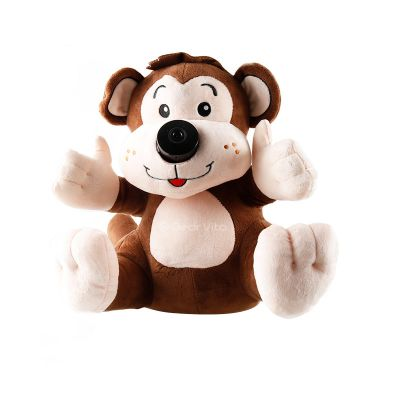 BOXING F03 720P Baby Monitor Plush Monkey Design Support WiFi