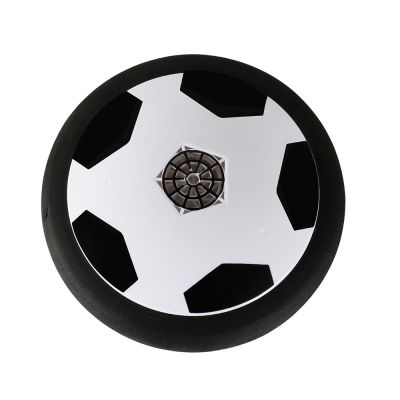 Pneumatic Soccer Disc Toy with Foam Bumpers and LED Lights