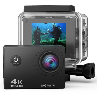 AT-30R Ultra HD 4K Action Camera 2.0 inch Mini Waterproof WiFi Remote Sports DV