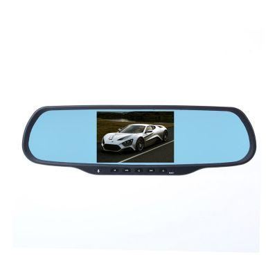 Musk Q8 Bluetooth Hand-free Car DVR GPS Navigation Dual Lens