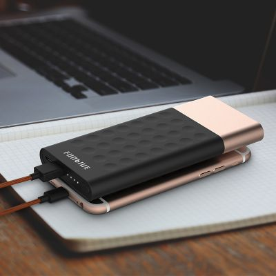 Funblue Dots 9000mAh External Power Bank with Suction Cup Design