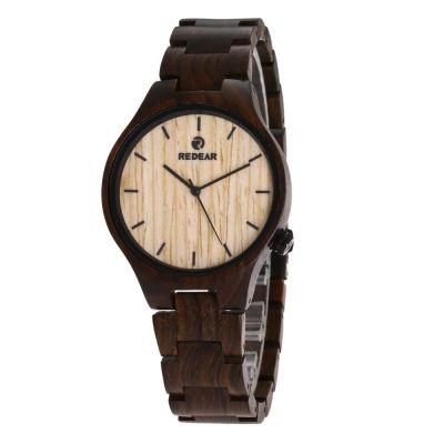 Redear SJ1603-5 Wooden Quartz Watch-Male