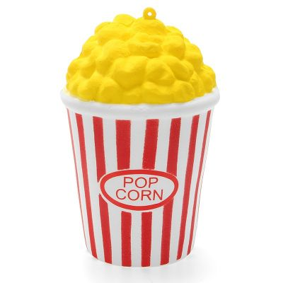 Squishy Pop Corn 12cm Soft Slow Rising 8s Collection Gift Decor Toy
