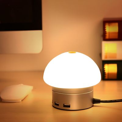 Seenda USB Charger 6 Port Hub Desktop LED Touch Lamp
