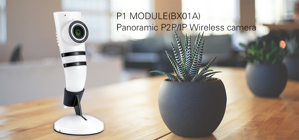 BOXING Panoramic IP Camera Wireless Home Security Surveillance System