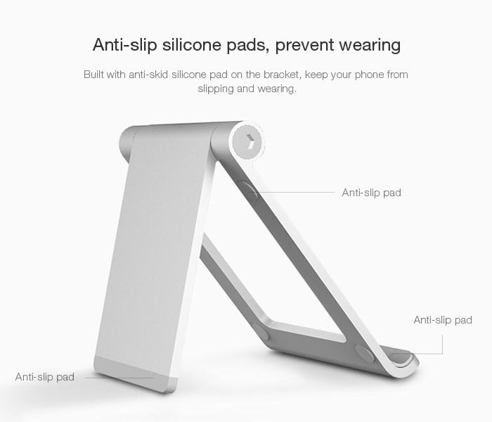Seenda IPS-Z26 Aluminum Alloy Stand Foldable Phone Holder