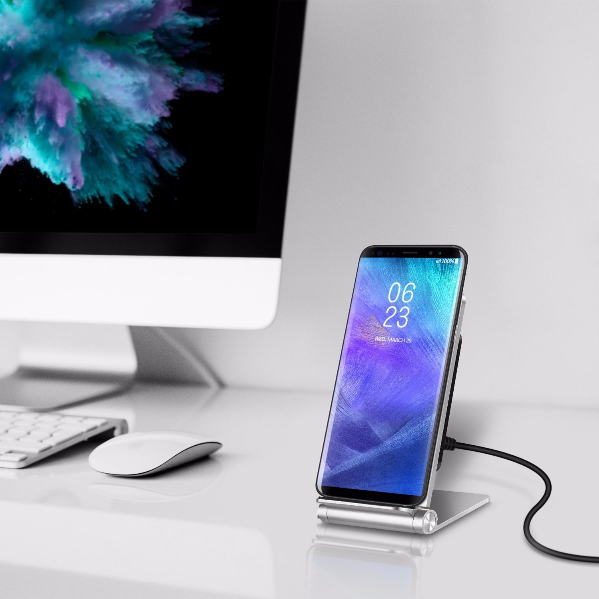 Seenda IPS-Z37 Adjustable Wireless Charger Holder