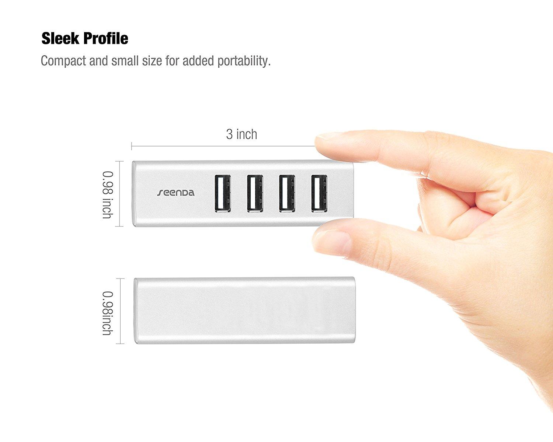 Seenda IHUB-02 Alumimum USB 3.0 Hub with 4 Port