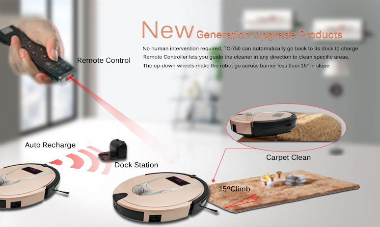 intelligent remote control sweeping robot