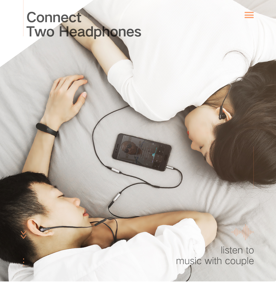 3.5mm earphone splitter