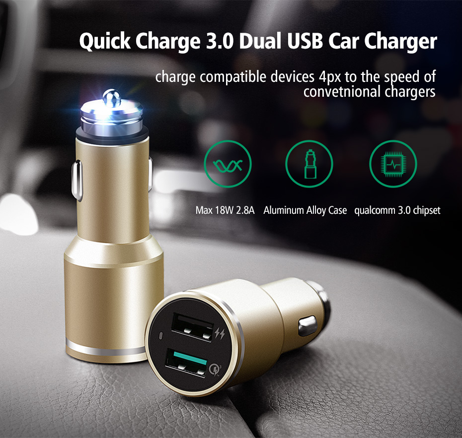 dual port phone charger