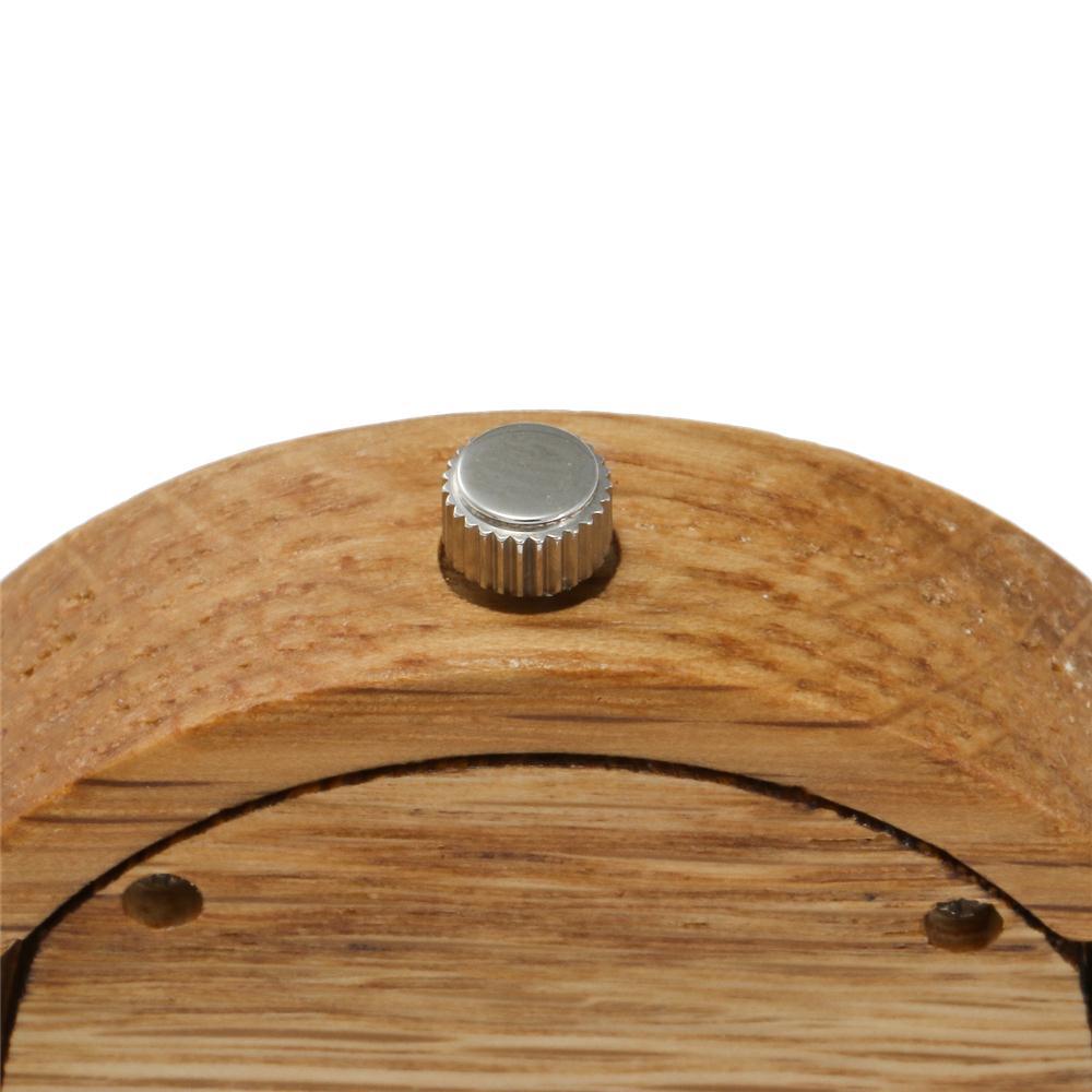 Redear SJ1522 -1 Wooden Quartz Watch-Female Brown