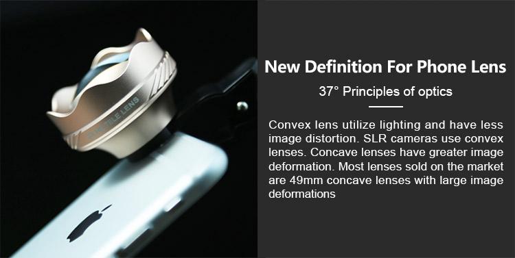 wide angle phone lens