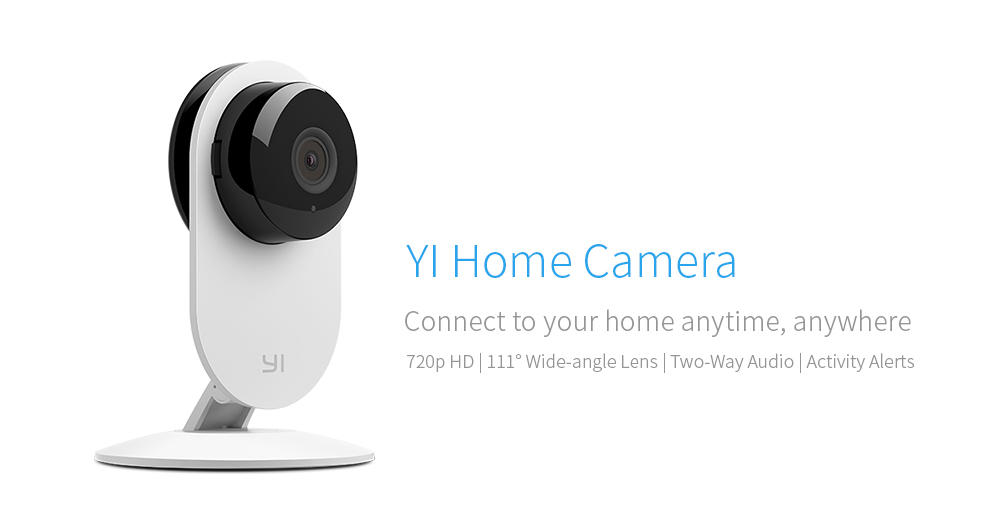 YI IP Camera 720P Night Vision Video Wireless Network Home Surveillance