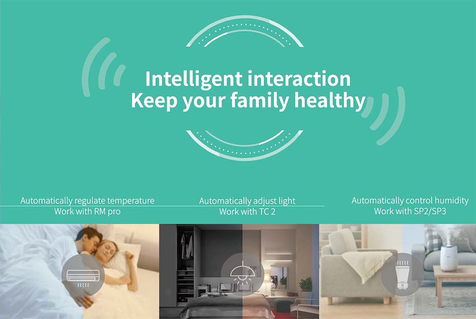 Broadlink A1 Smart Home Air Electronic Detector