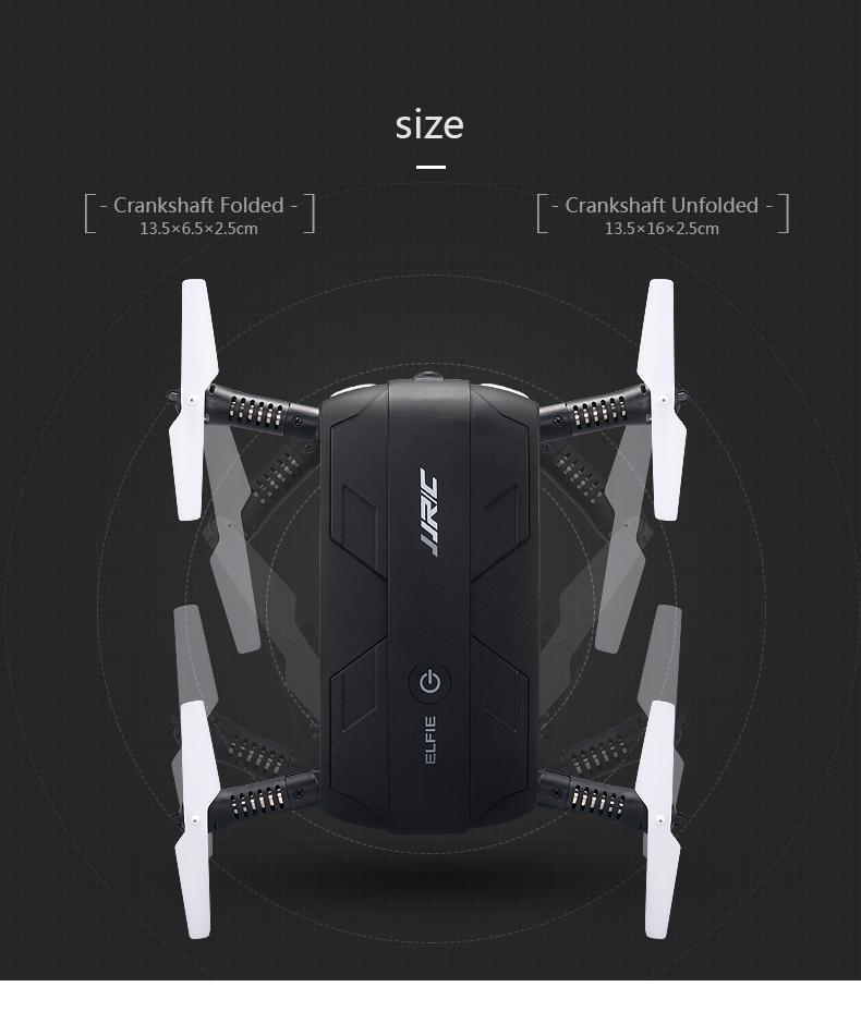 JJRC H37 Headless Drone Selfie Mini Folded FPV with WiFi 480P HD Camera