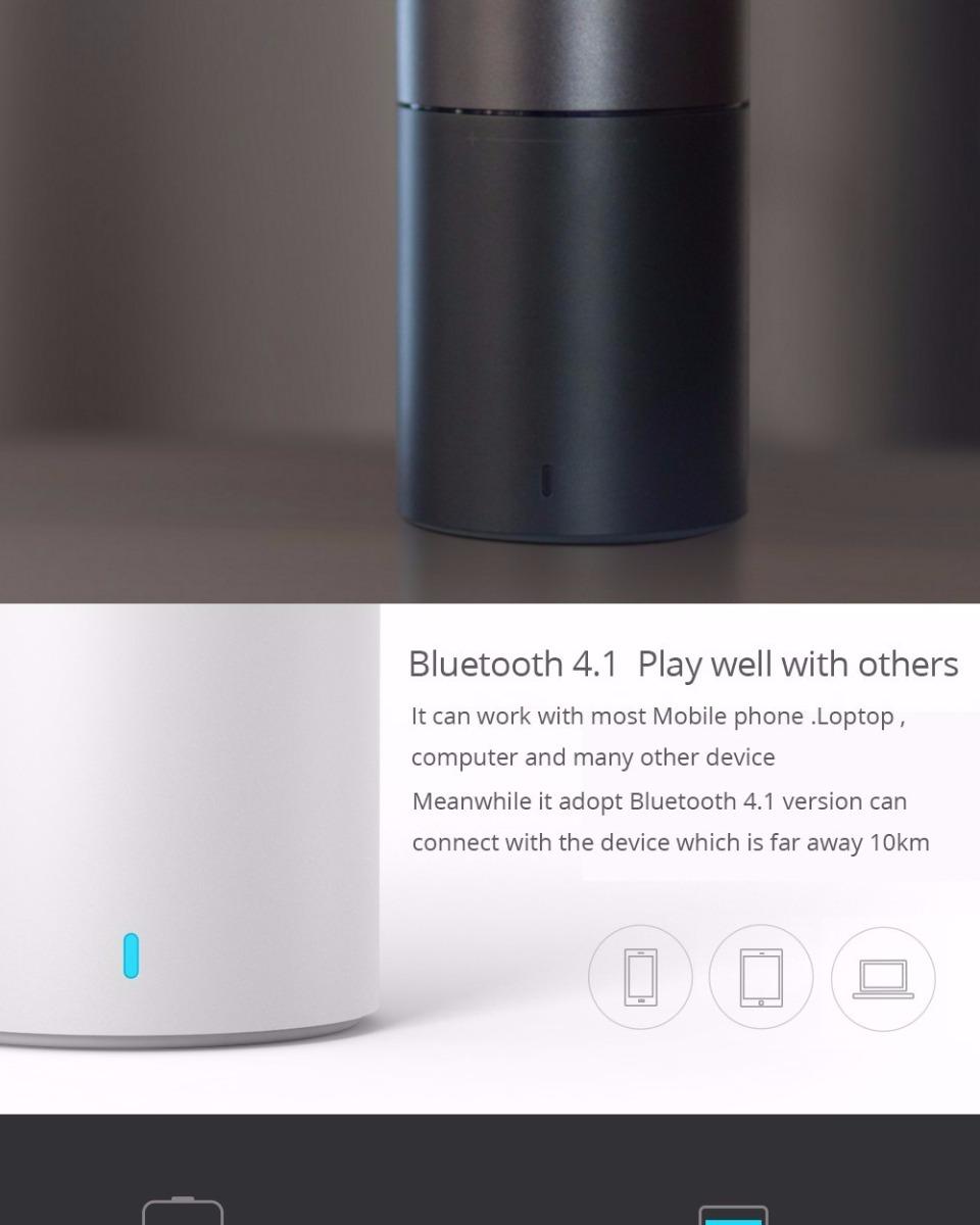 Xiaomi Mini Speaker 2 Portable Wireless Bluetooth Hands Free Cylindrical Shape